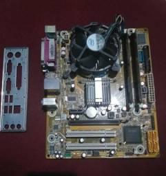 Kit 775 DDR3 Com 2GB RAM