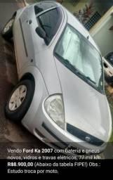 Ford Ka 2007 Prata - 2007
