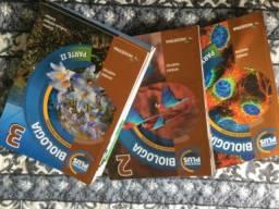 Livros Biologia Moderna Plus 1, 2 e 3 Amabis Martho
