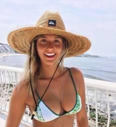 Chapéu de praia Quiksilver Unissex Estampado