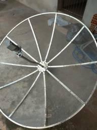Antena Parabólica + Receptor