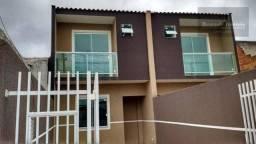 F-SO0480 Sobrado com 2 quartos à venda, 74 m² por R$ 225.000 Ganchinho - Curitiba/PR