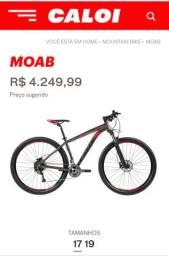 Bicicleta MTB (Caloi Moab)