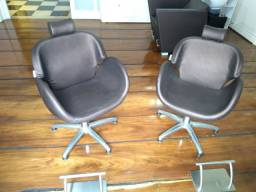 Cadeira / Poltrona - Haisan - Crealle Hidráulica com apoio de pés Europeu
