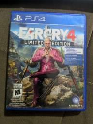 Vendo jogo Farcry 4 Limited Edition - PS4