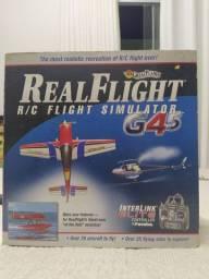 Real Flight Simulator G4.5 com Rádio