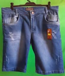Renda Extra Bermuda Jeans no Atacado