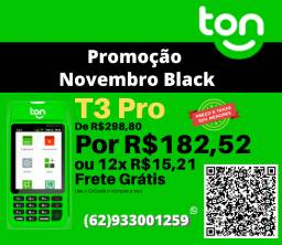 Ton T3 PRO na Black Friday