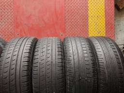 4 pneus 195/55 R16 (450$ até 6x sem juros no cartão)