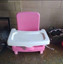 Cadeira portátil de alimentação para bebe