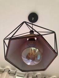 Luminária + lâmpada