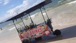 Vendo carrinho de drinks