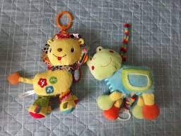 Brinquedos sensoriais interativos para bebês