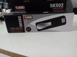 Pedal de sustain Turbo Eletronic SKS02 com chaveamento