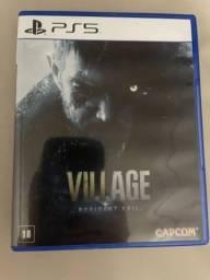 Jogo de playstation 5  (resident evil 8 village)