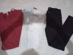 3 calças jeans c. laycra,da blueettel, t.  38