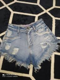 Título do anúncio: Short jeans tamanho 34/36 bem curtinho