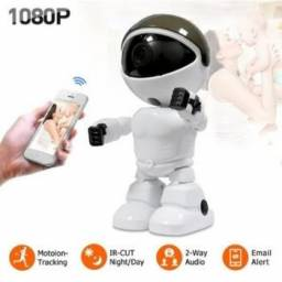 Título do anúncio: Câmera IP Robô Auto Tracking Visão Noturna Full HD 1080p Wifi - It Blue - SC-B11