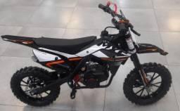 Título do anúncio: Mini Moto Ferinha 49cc 2021 0km Partida Manual Serie Especial