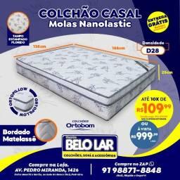 Colchão Ortobom Casal De Mola, Compre no zap