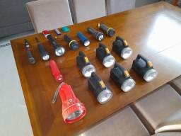 Título do anúncio: Coleção de lanternas antigas com 20 unidades