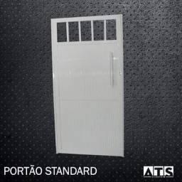 Portão Social 1,80x0,80 Modelo Standard c/ Puxador.