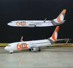 Boeing 737-800 Marca Gemini Jets escala 1/200