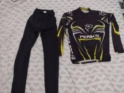 Título do anúncio: Conjunto camisa + calça ciclismo