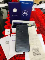 Título do anúncio: Motorola One Black 64 GB novo