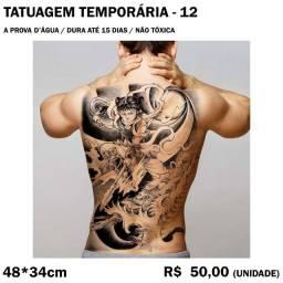 Tatuagem Temporária - Warrior