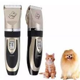 Kit Maquina De Tosa Profissional Cães Pet Clipper