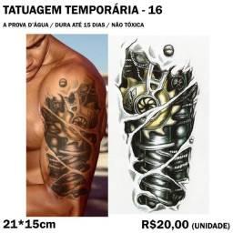 Tatuagem Temporária Robot