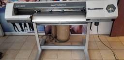 Impressora Roland VP300 com recorte