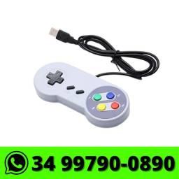 Controle USB Super Nintendo para PC Notebook