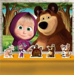 VENDA Decoração Masha e o urso