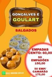 Título do anúncio: Goulart e Gonçalves salgados