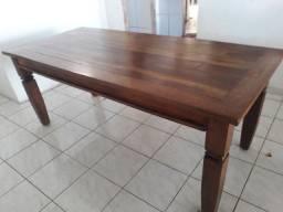Título do anúncio: Vendo mesa rústica madeira