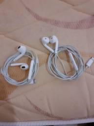 Vendo fone de ouvido original do IPhone por 80