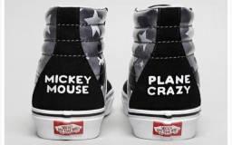 Tênis Vans Disney - Mickey Mouse - Comemoração 90 anos - Número 37