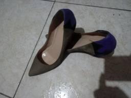 Vendo sapato de couro