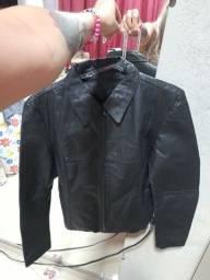 Jaqueta de couro grossa original(P)