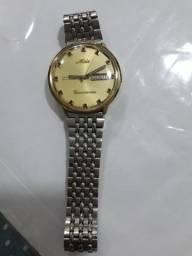 Relógio de pulso Mido original Ocean Star dourado