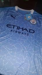 Camisa Manchester City - 20/21 - Pronta entrega