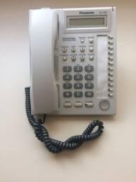 Título do anúncio: telefone Panasonic Modelo KX T7667 usado