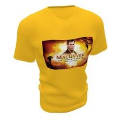 Camiseta retrô Macgyver