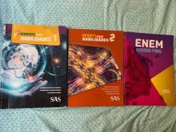 3 livros de questões para o ENEM SAS