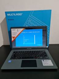 Notebook Ultrafino QuadCore com SSD Novo! Aceito cartão