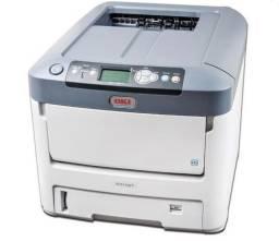 Impressora Oki C711wt (toner branco)