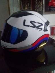 Vendo capacete LS 2impecável númeração 56
