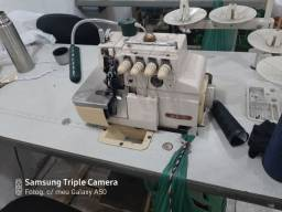 Máquina galoneira orveloque  e corta viés